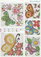 Charts Cross Stitch and Craft: Butterflies