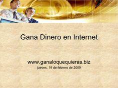 Gana Dinero En Internet Necesitas ganar dinero extra ? Visita http://albertoabudara.com/1118/como-ganar-dinero-rapido/