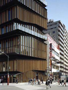 Can someone please give Kengo Kuma a Prtizker already?  Asakusa Culture Tourist Information Center by Kengo Kuma & Associates