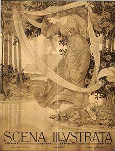 Scena Illustrata November 1912 cover