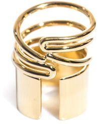 ShopStyle: Balenciaga Tube wrap around ring