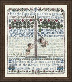 Before the Fall - Cross Stitch Pattern