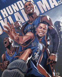 Oklahoma City Thunder Playoff Squad