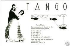 Tango steps description
