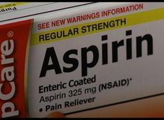Aspirin Use Linked to Macular Degeneration -- New study reveals increased risk of incident neovascular age-related macular degeneration as a result of regular aspirin use, independent of a history of cardiovascular disease and smoking. [w/ VIDEO]