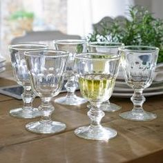 Weingläser 6er-Set Pouce vin