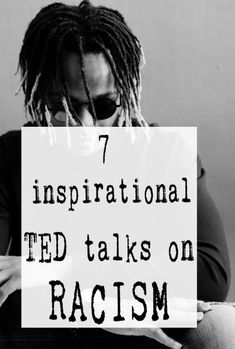 Inspirational TED Talks on Racism to inspire and educate and anti-racist generation #TEDtalks #racism #blacklivesmatter #abeautifulspace Inspirational Ted Talks, 100 Books To Read, Self Determination, Anti Racism, Thought Provoking, Inspire, Posts, Education, Feelings