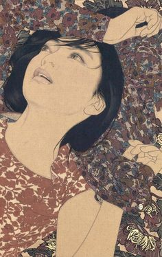 Kai Fine Art is an art website, shows painting and illustration works all over the world. Japan Illustration, Modern Art, Contemporary Art, Japanese Art Modern, Traditional Japanese, Japanese Style, Art Occidental, Art Visage, Art Asiatique