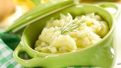 Piure de conopidă, broccoli şi somon