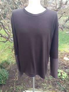upper palatinate rocks: MEN 2014 pullover brown. sleeves light brown