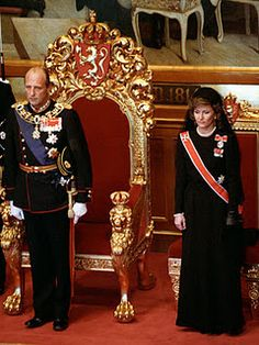 Accession of King Harald V and Queen Sonje of Norway