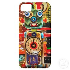 Just sold another one of these Robot Clock Recycled Art iPhone 5 Case