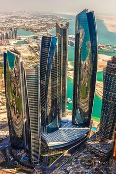 Abu Dhabi city of sky scraper