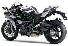 Kawasaki Ninja H2 supercharged street bike
