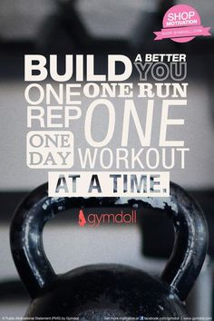 Keep reminding yourself that your fitness journey is a marathon not a sprint. You won't meet your goals overnight. However, with every rep, morning run, or evening workout you can achieve them.