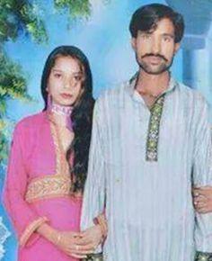 Shama Bibi y Shahzad Masih