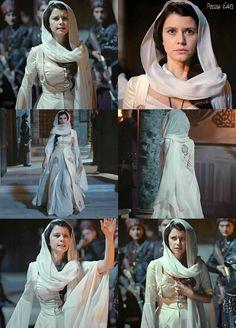 muhtesem yuzyil kosem, magnificent century kosem, kosem sultan, white dress