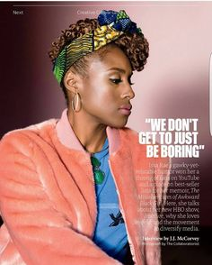 Magazine: Issa Rae for Fast Company Magazine November 2016