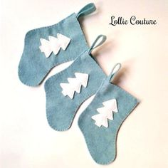 Items similar to Blue Frost Christmas stocking - Felt Stockings - Gift Card Stocking - felt stocking - Mini Stockings - Christmas on Etsy Dog Christmas Stocking, Felt Christmas Stockings, Felt Stocking, Christmas Ornaments, Merry Christmas, Xmas, Modern Christmas, Christmas Colors, Rustic Christmas