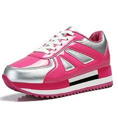Beita Damen Lackleder Low Top Platform Schuhe Fashion Frauen Sneaker - http://on-line-kaufen.de/beita/beita-damen-lackleder-low-top-platform-schuhe