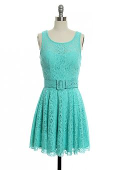 You Truly Tickle My Fancy Dress in Blue   Vintage, Retro, Indie Style Dresses $44.99 - MP