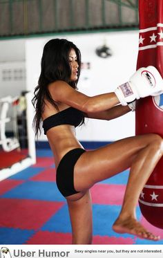 I'm a Muay Thai girl.  #muaythai  NEW WORKOUT routine! Amazing workout!
