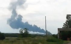 Malaysia Airlines plane crushes in eastern Ukraine near area occupied by separatist rebels.