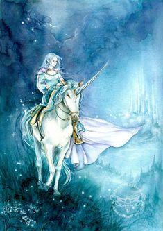 Long Way Home by JannaFairyArt on DeviantArt * Unicorn Fantasy Myth Mythical Mystical Legend Licorne Enchantment Einhorn unicorno unicornio Единорог jednorožec Eenhoorn yksisarvinen jednorożca unicórnio Egyszarvú Kirin