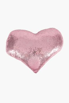Heart Shaped Sequins Cushion - Shop New In - Kids & Baby - Shop