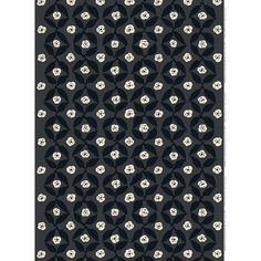 Marimekko Poppy Grey Fabric Unikko may be Maija Isola's most well-known poppy design, but the Marimekko Poppy Grey Sateen Fabric embraces the artistic value of the flower in a new way. Printed in Finland on cotton, the repea. Modern Fabric, Grey Fabric, Marimekko Fabric, Make Your Mark, Poppy, Finland, Prints, Design, Gray Fabric