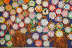 Mural dels arbres de la tardor de la classe Murals, Painting, Art, Projects, Craft Art, Wall Paintings, Painting Art, Kunst, Mural Painting