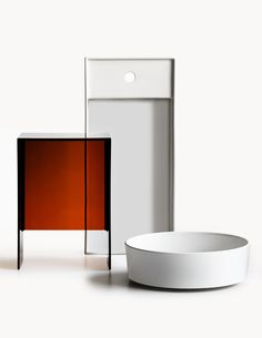 To the Power of Two: the Kartell by Laufen bathroom programme Laufen Bathroom, Bathroom Sets, Modern Bathroom, Bathrooms, Interior Design Shows, Sink, Furniture, Arrows, Home Decor