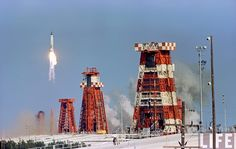 "John Glenn launch, Walter Cronkite: "" Go, baby ! "", Mercury / Atlas rocket, Pad-14, Cape Canaveral, February 20, 1962. https://www.flickr.com/photos/mrdanbeaumont/16018493671"