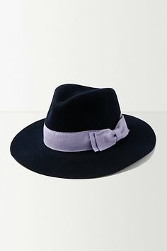 #Perfection... Looped Bow Trilby #anthropologie