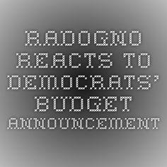 Radogno reacts to Democrats' budget announcement