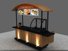 You coffee lovers wish to make a coffee shop in your home yet are perplexed by the design? Rest Stegavia below has prepared a number of distinct styles varying from basic to extravagant interiors, all right here Food Stall Design, Food Cart Design, Food Truck Design, Kiosk Design, Cafe Design, Booth Design, Mobile Coffee Cart, Mobile Coffee Shop, Food Cart Business