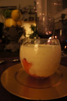 Strawberry tiramissu