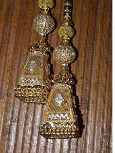 Tassels for Wedding Lehenga / Dress by Indianlacesandfabric
