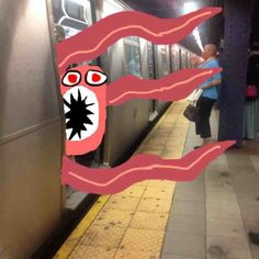Be careful of those subway monsters!