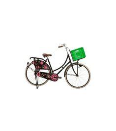 Ontwerp je eigen fiets. Oud Hollands damesmodel met bijpassende accessoires. Stel je eigen fiets samen door te kiezen uit de verschillende opties.