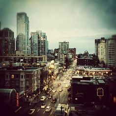 22.12.2012.  Downtown Vancouver @am730