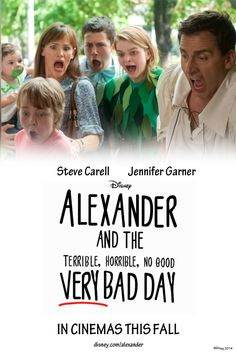 Alexander and the Terrible, Horrible, No Good VERY BAD DAY. 2014