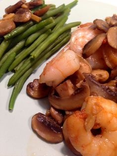 Décorer la vie: Receita Dieta 31 dias - Camarão com gengibre Brunch, Green Beans, Paleo, Healthy Eating, Low Carb, Vegetables, Cooking, Recipes, Kitchen Things