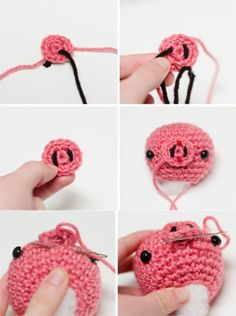 Amigurumi Doll Nose : 1000+ images about Crochet toys & dolls on Pinterest ...