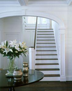 Stunning view of the Carolina Island House foyer...