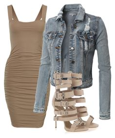 """""""Untitled #1013"""" by whokd ❤ liked on Polyvore featuring Giuseppe Zanotti"""