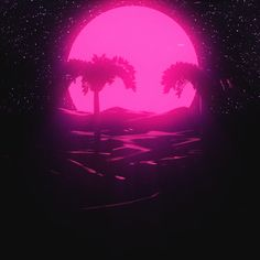 Animated gif about pink in Vaporwave💎🔮💿📺 by space_sapphic Vaporwave Wallpaper, Retro Kunst, Retro Art, New Retro Wave, Retro Waves, Neon Aesthetic, Aesthetic Movies, Aesthetic Pictures, Aesthetic Black