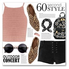 """60-Second Style: Outdoor Concerts"" by myduza-and-koteczka ❤ liked on Polyvore featuring SHE MADE ME, Étoile Isabel Marant, Anja, John Lewis, Moschino, rag & bone and Burberry"