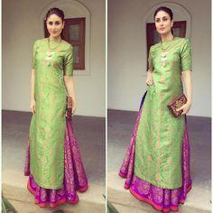 Kurta lehenga - Payal Khandwala - Kareena Kapoor - What to wear to an Indian wedding
