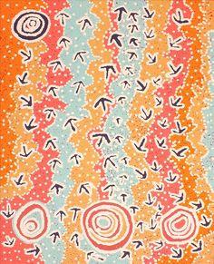 Yankirri Jukurrpa (Emu Dreaming) - Ngarlikurlangu by Lee Nangala Gallagher-Wayne